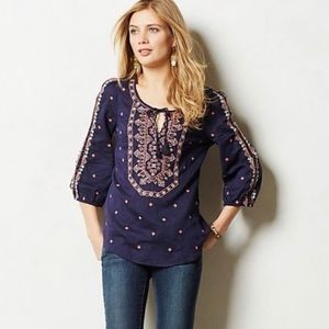 VANESSA VIRGINIA Anthropologie TOP